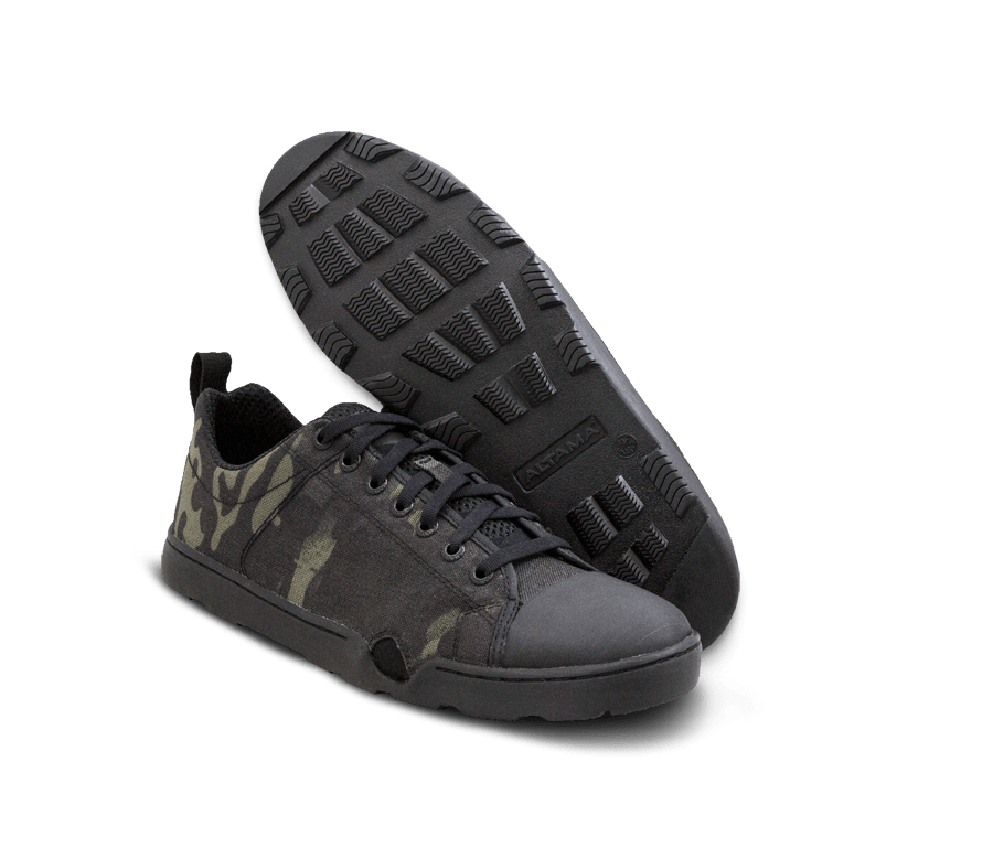 Тактичні кеди Altama Maritime Assault Low Black MultiCam (335051) Фото